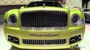 Bentley Mulsanne Speed на выставке