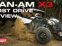 Тест №2 BRP Can-Am Maverick X3