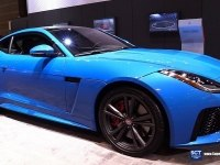 Jaguar F-Type SVR на выставке