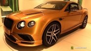 Bentley Continental Supersports на выставке