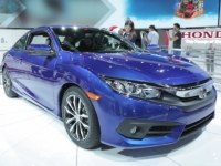 Honda Civic Coupe на выставке