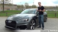Тест-драйв Audi RS5 Coupe