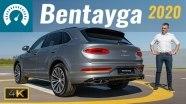 Тест-драйв роскошного кроссовера Bentley Bentayga 2020