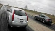 Cadillac CTS-V Wagon vs Porsche 911 Twin Turbo