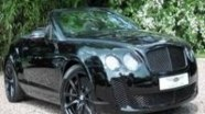 Любительское видео Bentley Continental Supersports Convertible
