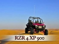 Polaris RZR XP 4 900 в пустыни