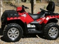 Тест Polaris Sportsman Touring 850 H.O. EPS